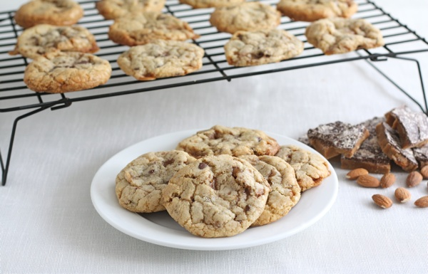 Almond toffee cookies photo 3