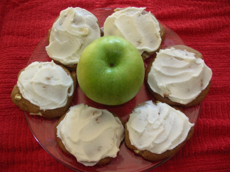 Apple cookies photo 6