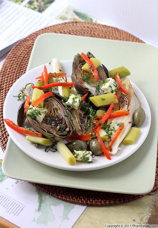 Artichoke salad photo 1