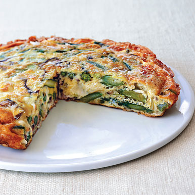 Asparagus frittata photo 1