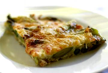 Asparagus frittata photo 2