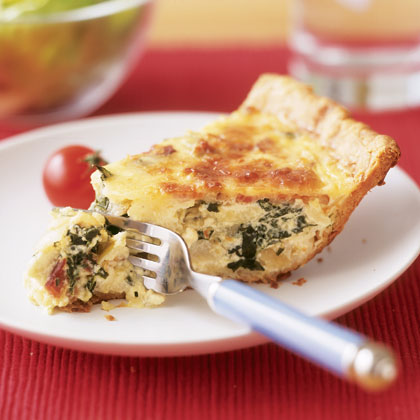 Bacon and swiss quiche photo 2