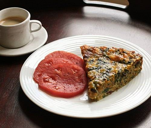 Bacon and swiss quiche photo 3