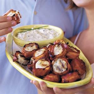 Bacon wrapped scallops photo 3