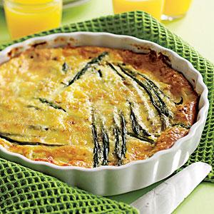 Baked asparagus photo 1