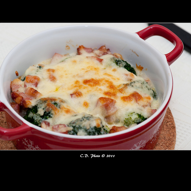 Baked broccoli photo 1