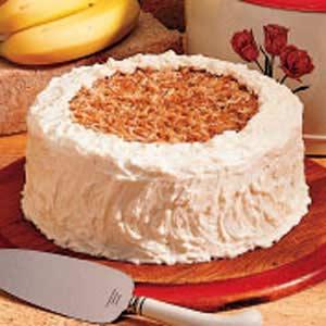 Banana coconut cake photo 2