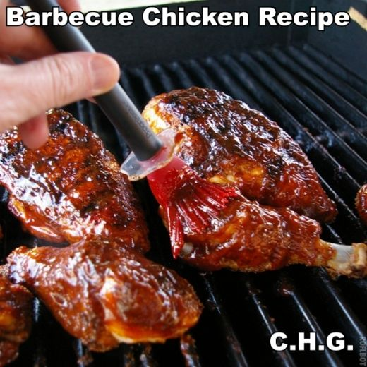 Barbecued chicken photo 5