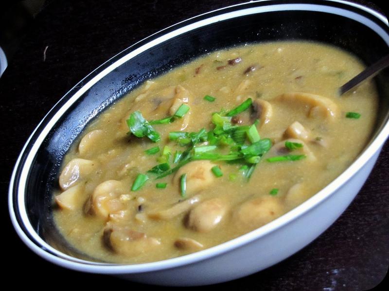 Barley soup photo 1