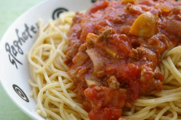 Basic spaghetti sauce photo 2