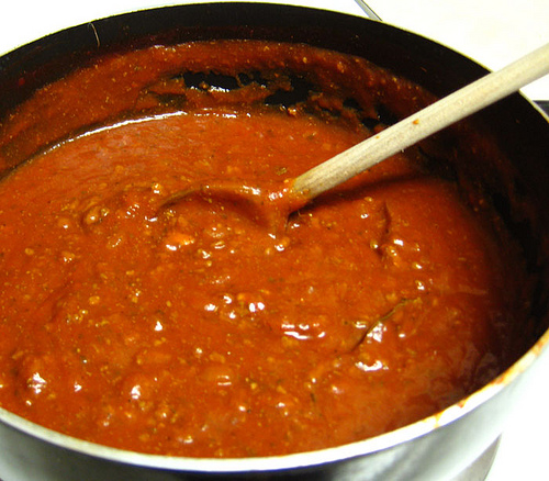Basic spaghetti sauce photo 1