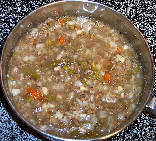 Beef and barley soup photo 3