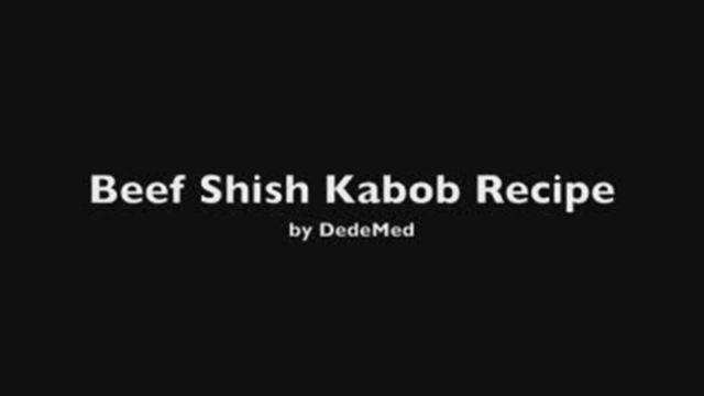 Beef shish kabobs photo 2