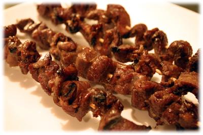 Beef shish kabobs photo 1
