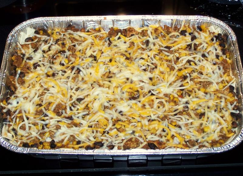 Beefy mexican lasagna photo 1