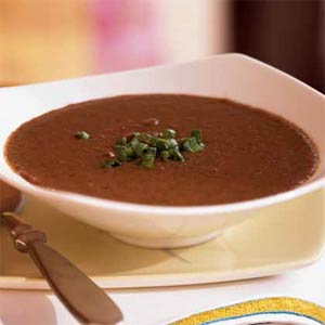 Black bean soup photo 1