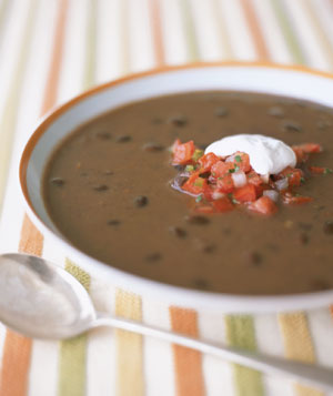 Black bean soup photo 2