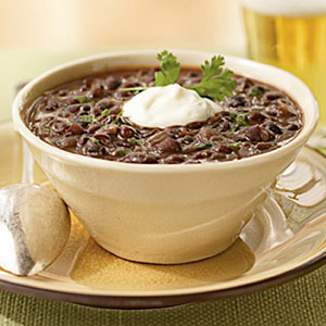 Black bean soup photo 3