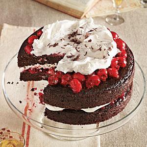 Black forest cherry cake photo 2