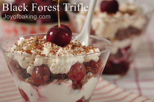 Black forest trifle photo 1