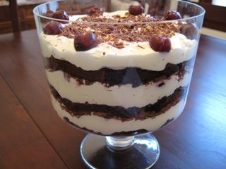 Black forest trifle photo 2