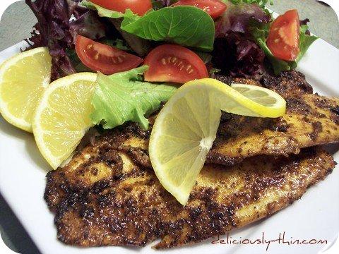 Blackened fish photo 2