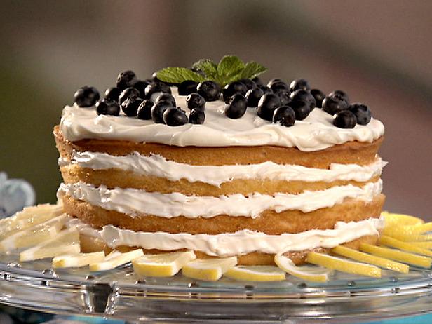 Blueberry cake photo 1