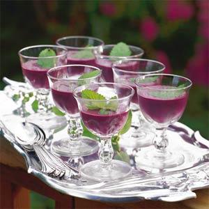 Blueberry soup photo 1
