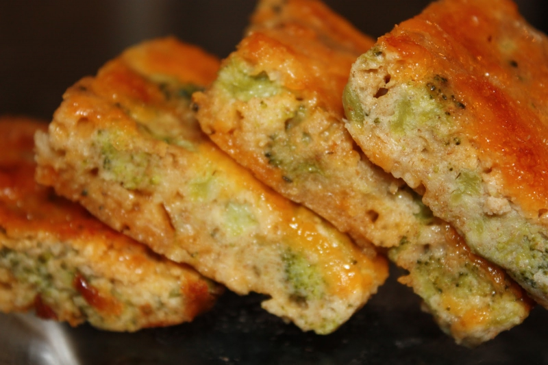 Broccoli cheese squares photo 1