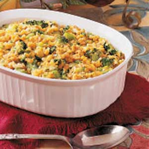 Broccoli-corn casserole photo 1