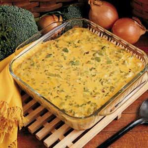 Broccoli rice casserole photo 2