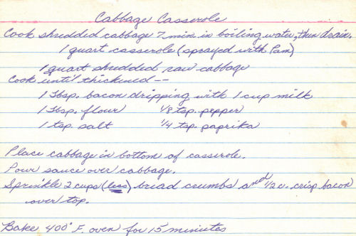 Cabbage casserole photo 3