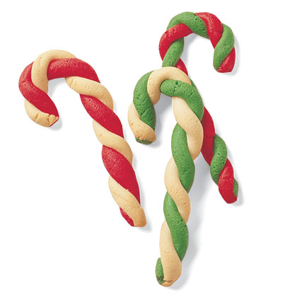 Candy cane cookies photo 3