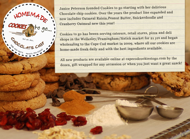 Cape cod oatmeal cookies photo 2