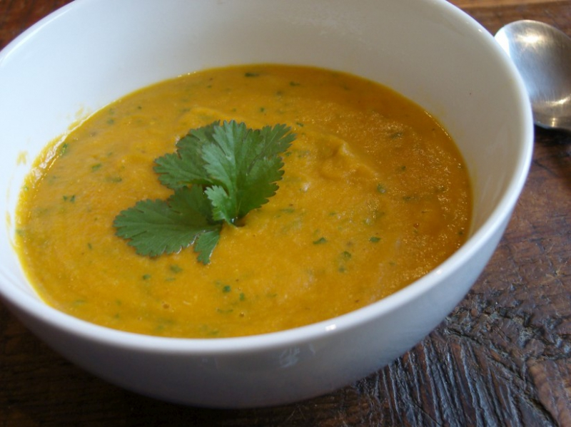 Carrot soup photo 1