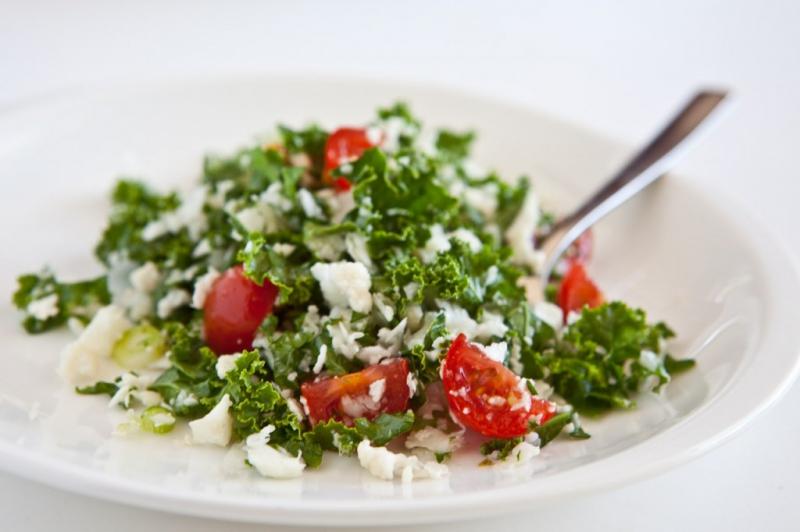Cauliflower salad bowl photo 3