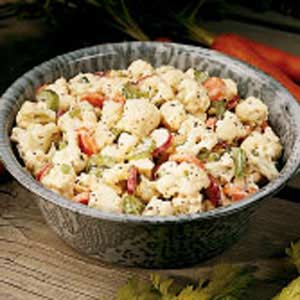 Cauliflower salad photo 2