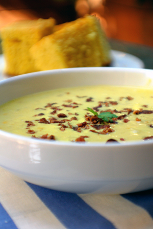 Cheddar chowder photo 1