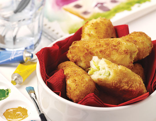 Cheese croquettes photo 1