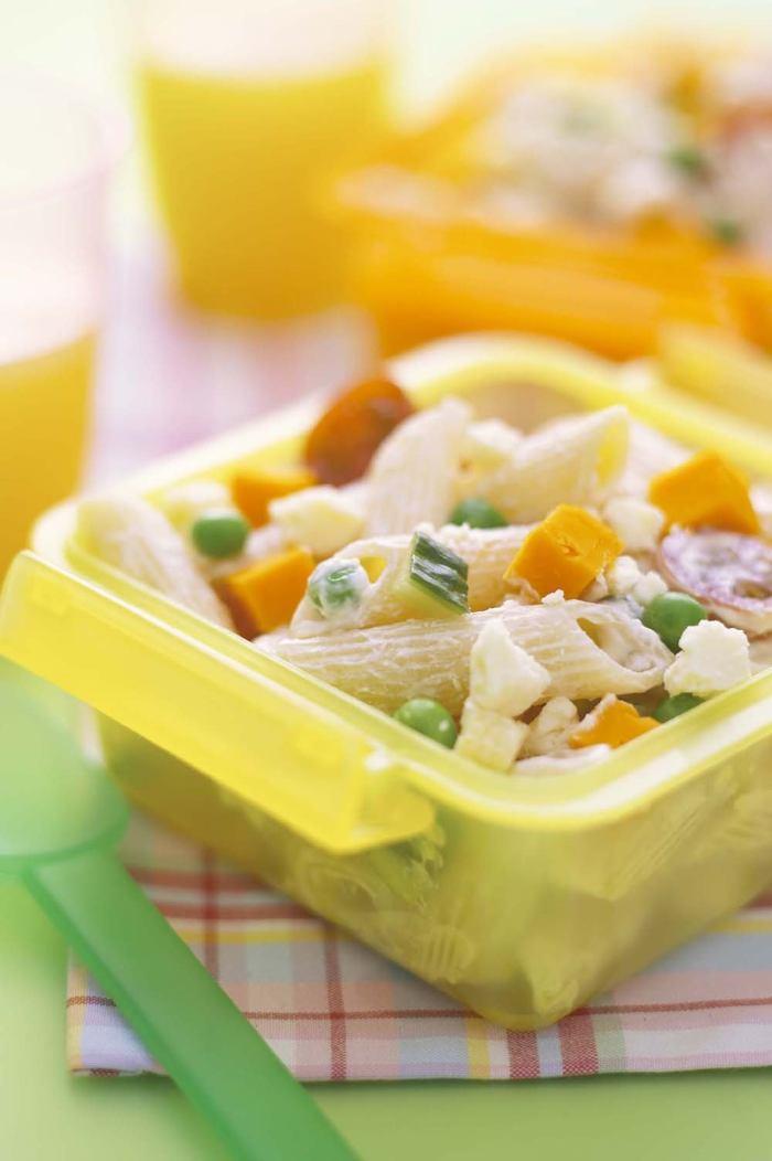 Cheesy pasta salad photo 1