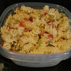 Cheesy pasta salad photo 2