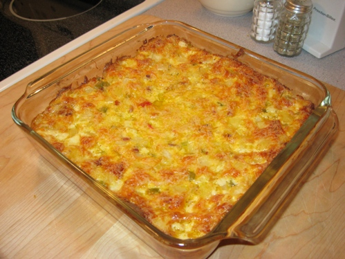 Cheesy potatoes photo 1