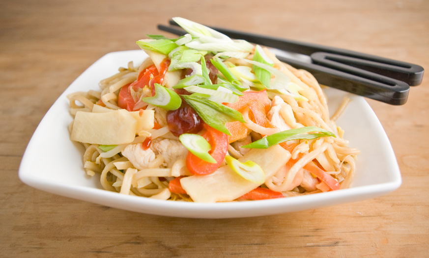 Chicken chow mein photo 1