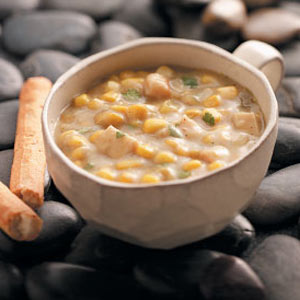 Chicken corn chowder photo 1