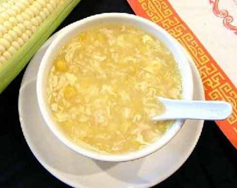 Chicken corn soup photo 1