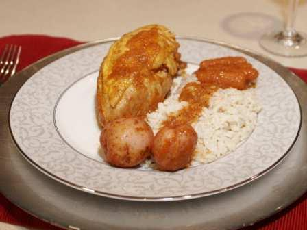 Chicken fricassee cuban style photo 3