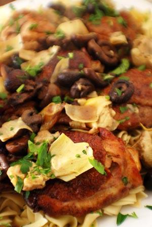 Chicken jerusalem photo 1