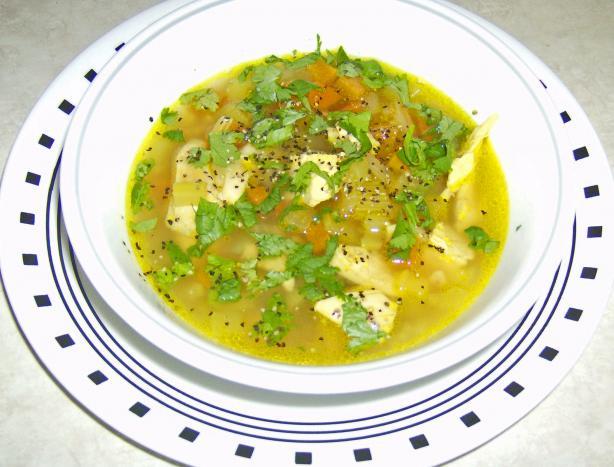 Chicken mulligatawny soup photo 1