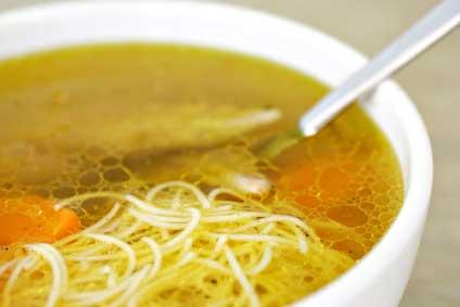 Chicken noodle soup photo 2