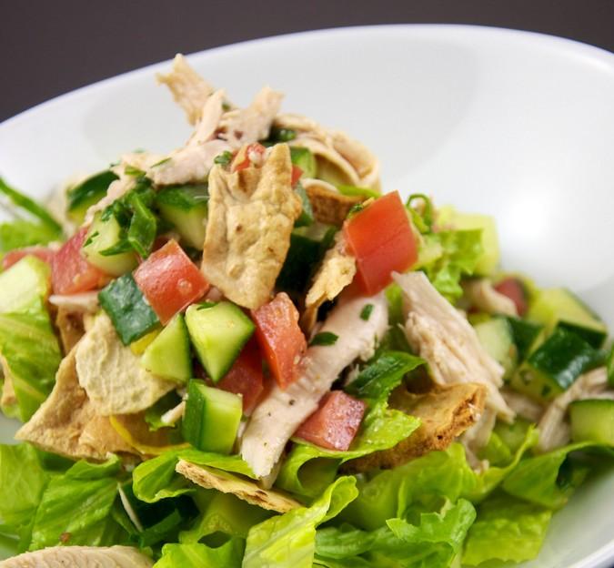Chicken pasta salad photo 1